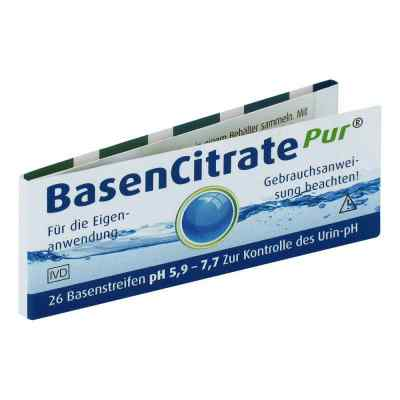 Basen Citrate Pur Teststr.ph 5,9-7,7 nach Apot.R.Keil  bei versandapo.de bestellen