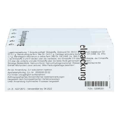 Cartilago/mandragora compositus Ampullen  bei versandapo.de bestellen