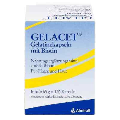 Gelacet Gelatinekapseln mit Biotin  bei versandapo.de bestellen