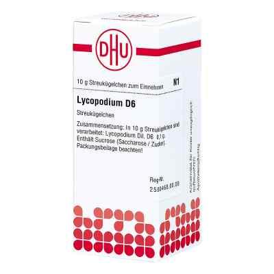 Lycopodium D 6 Globuli  bei versandapo.de bestellen