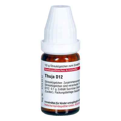 Thuja D 12 Globuli  bei versandapo.de bestellen