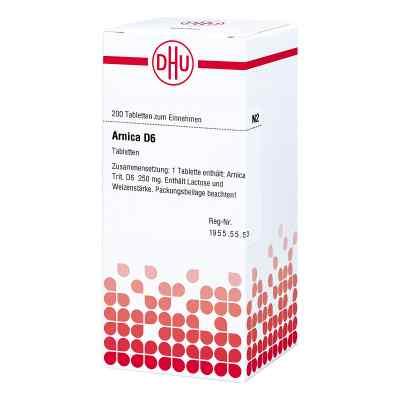 Arnica D 6 Tabletten  bei versandapo.de bestellen