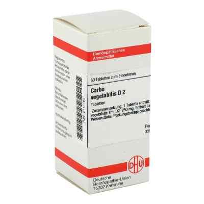 Carbo Vegetabilis D 2 Tabletten  bei versandapo.de bestellen