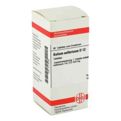 Kalium Sulfuricum D 12 Tabletten  bei versandapo.de bestellen