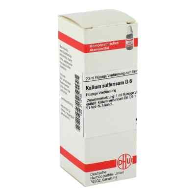 Kalium Sulfuricum D 6 Dilution  bei versandapo.de bestellen