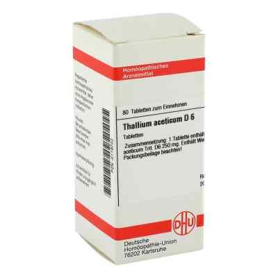 Thallium Acet. D 6 Tabletten  bei versandapo.de bestellen