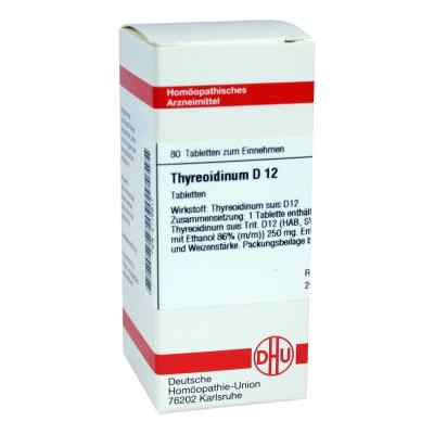 Thyreoidinum D 12 Tabletten  bei versandapo.de bestellen
