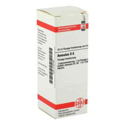 Aesculus D 6 Dilution  bei versandapo.de bestellen