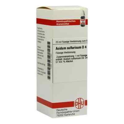 Acidum Sulfuricum D 4 Dilution  bei versandapo.de bestellen