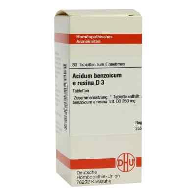Acidum Benzoicum E.res. D 3 Tabletten  bei versandapo.de bestellen