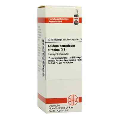 Acidum Benzoicum E.res. D 3 Dilution  bei versandapo.de bestellen