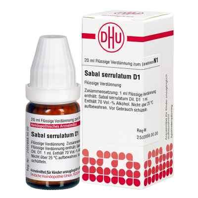 Sabal Serrul. D 1 Dilution  bei versandapo.de bestellen