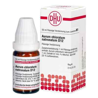 Aurum Chloratum Natronatum D 12 Dilution  bei versandapo.de bestellen