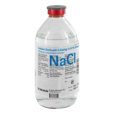 Kochsalzlösung 0,9% Glasflasche   bei versandapo.de bestellen