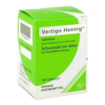 Vertigo Hennig Tabletten  bei versandapo.de bestellen
