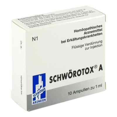 Schwörotox A Ampullen  bei versandapo.de bestellen