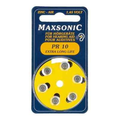 Batterien für Hörgeräte Maxsonic Pr10  bei versandapo.de bestellen