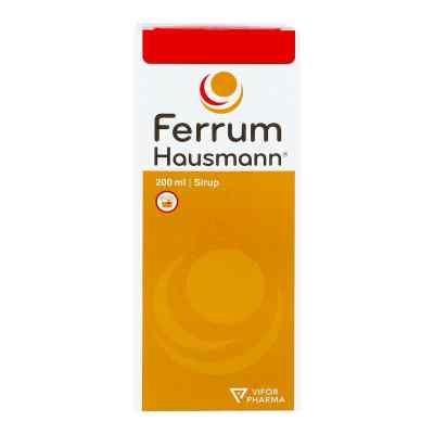 Ferrum Hausmann 50mg Eisen/5ml  bei versandapo.de bestellen