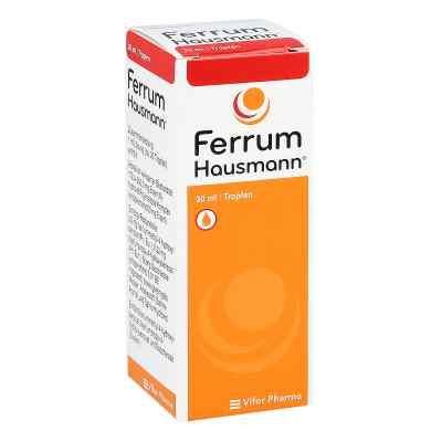 Ferrum Hausmann 50mg Eisen/ml Lösung  bei versandapo.de bestellen