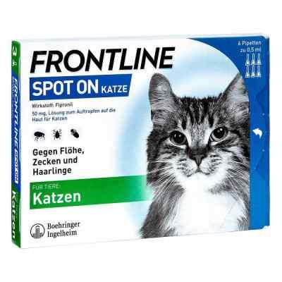 Frontline Spot on Katze veterinär  Lösung  bei versandapo.de bestellen