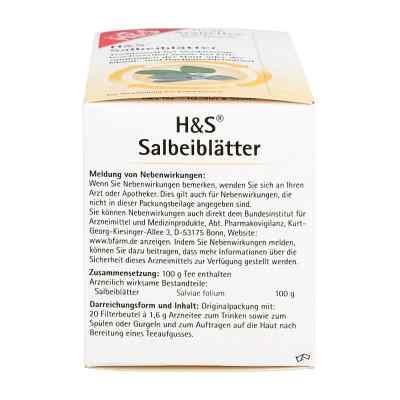 H&S Salbeiblätter  bei versandapo.de bestellen