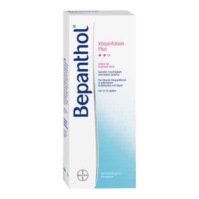 Bepanthol Körperlotion Plus Spenderflasche  bei versandapo.de bestellen