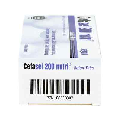 Cefasel 200 nutri Selen Tabs Tabletten  bei versandapo.de bestellen