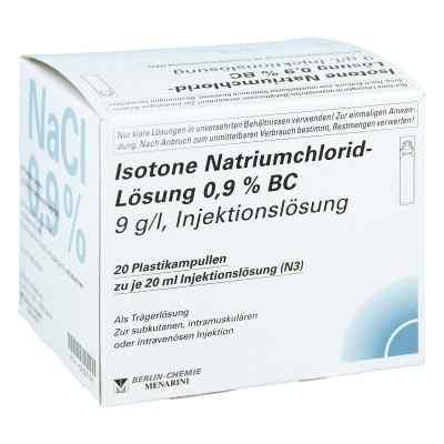 Isotone Nacl Lösung 0,9% Bc Plastik  iniecto -lösung  bei versandapo.de bestellen