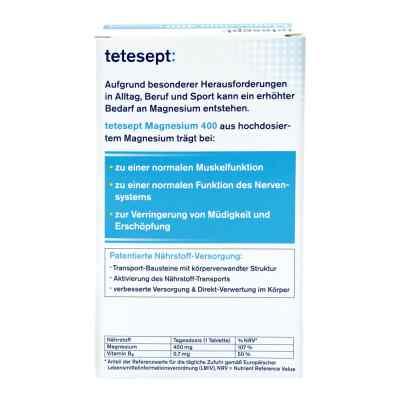 Tetesept Magnesium 400 hochdosiert Filmtabletten  bei versandapo.de bestellen