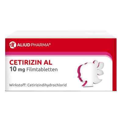 Cetirizin AL 10mg  bei versandapo.de bestellen