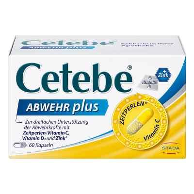 Cetebe Abwehr plus Vitamin C+vitamin D3+zink Kapsel (n)  bei versandapo.de bestellen