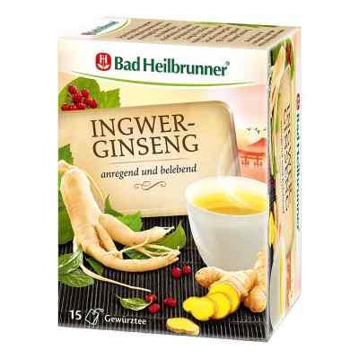 Bad Heilbrunner Tee Ingwer Ginseng Filterbeutel  bei versandapo.de bestellen