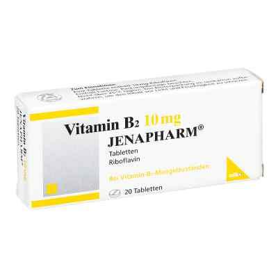 Vitamin B2 10 mg Jenapharm Tabletten  bei versandapo.de bestellen