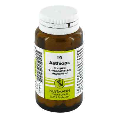 Aethiops Komplex Tabletten Nummer  19  bei versandapo.de bestellen