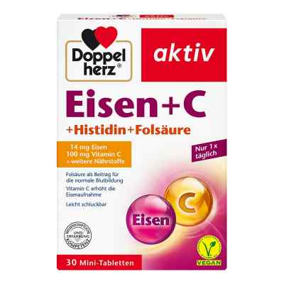 Doppelherz Eisen+vit.c+l-histidin Tabletten  bei versandapo.de bestellen