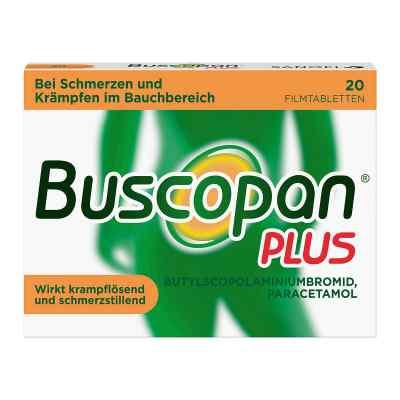 Buscopan PLUS Filmtabletten bei Bauchschmerzen & Regelschmerzen  bei versandapo.de bestellen