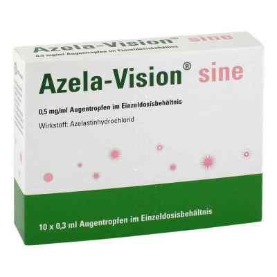Azela-vision sine 0,5 mg/ml Augentropfen i.einzeldosis.  bei versandapo.de bestellen