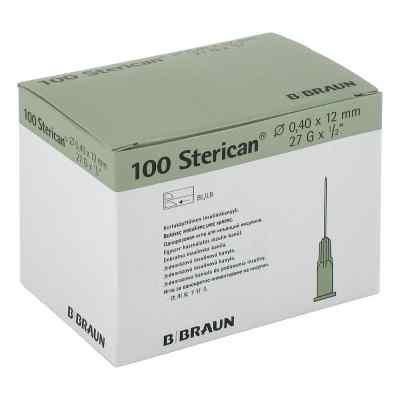 Sterican Ins.einm.kan.27gx1/2 0,40x12 mm  bei versandapo.de bestellen
