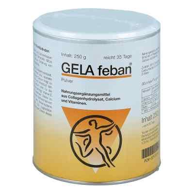 Gelafeban Pulver mit Gelatinehydrolysat plus  bei versandapo.de bestellen