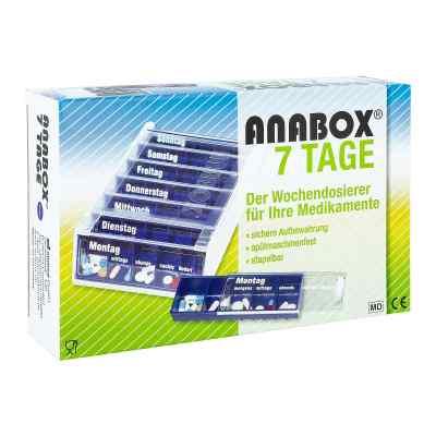 Anabox 7 Tage Wochendosierer blau  bei versandapo.de bestellen