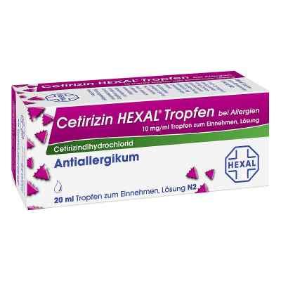 Cetirizin HEXAL bei Allergien 10mg/ml  bei versandapo.de bestellen