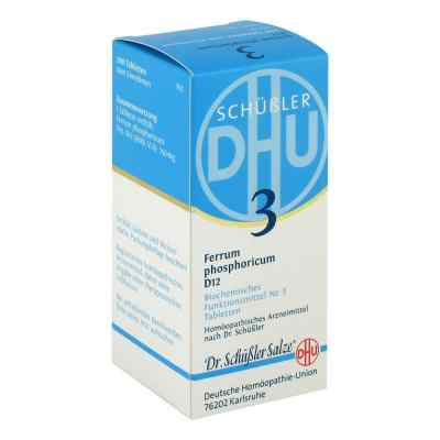 Biochemie Dhu 3 Ferrum phosphorus D  12 Tabletten  bei versandapo.de bestellen