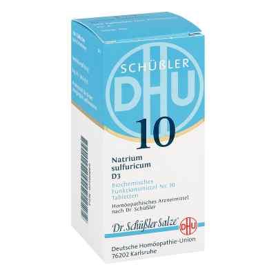 Biochemie Dhu 10 Natrium Sulfur D  3 Tabletten  bei versandapo.de bestellen