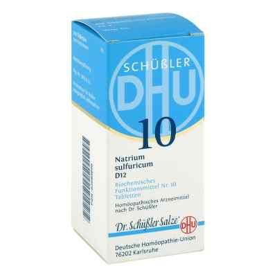 Biochemie Dhu 10 Natrium Sulfur D  12 Tabletten  bei versandapo.de bestellen