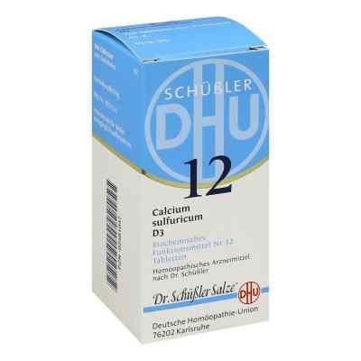 Biochemie Dhu 12 Calcium Sulfur D  3 Tabletten  bei versandapo.de bestellen