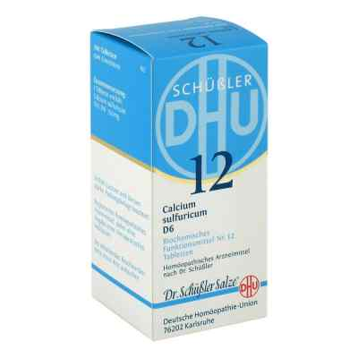 Biochemie Dhu 12 Calcium Sulfur D  6 Tabletten  bei versandapo.de bestellen