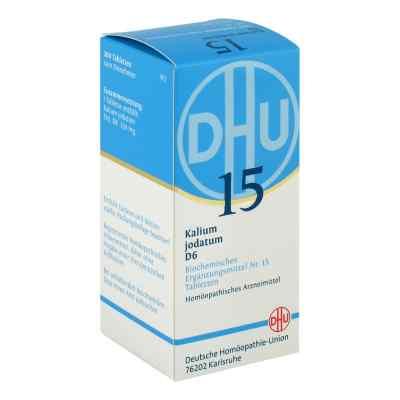 Biochemie Dhu 15 Kalium jodatum D 6 Tabletten  bei versandapo.de bestellen