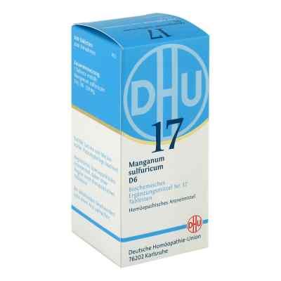 Biochemie Dhu 17 Manganum sulfuricum D6 Tabletten  bei versandapo.de bestellen