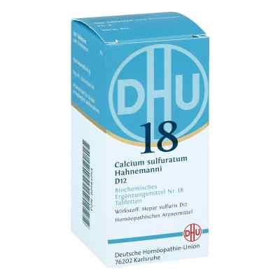 Biochemie Dhu 18 Calcium sulfuratum D 12 Tabletten  bei versandapo.de bestellen