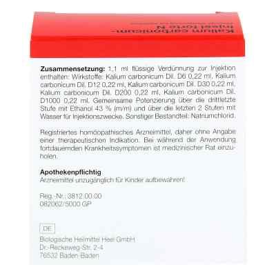 Kalium Carbonicum Injeel forte N Ampullen  bei versandapo.de bestellen